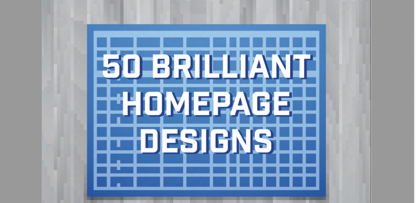 50 Brilliant Home Page Designs